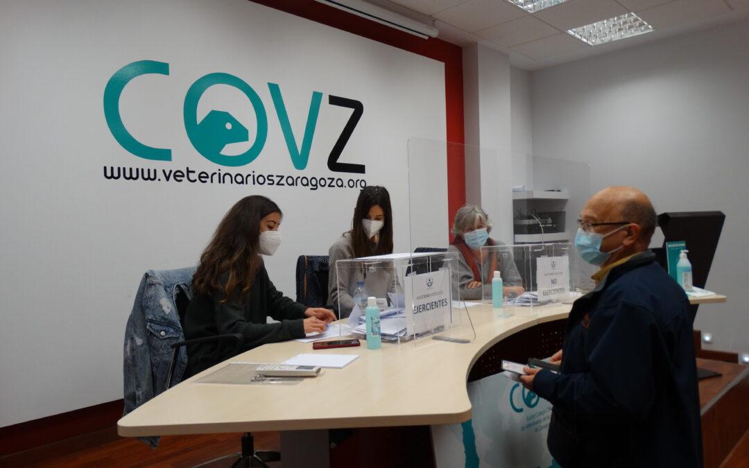 Información relativa a las elecciones del Colegio Oficial de Veterinarios de la Provincia de Zaragoza
