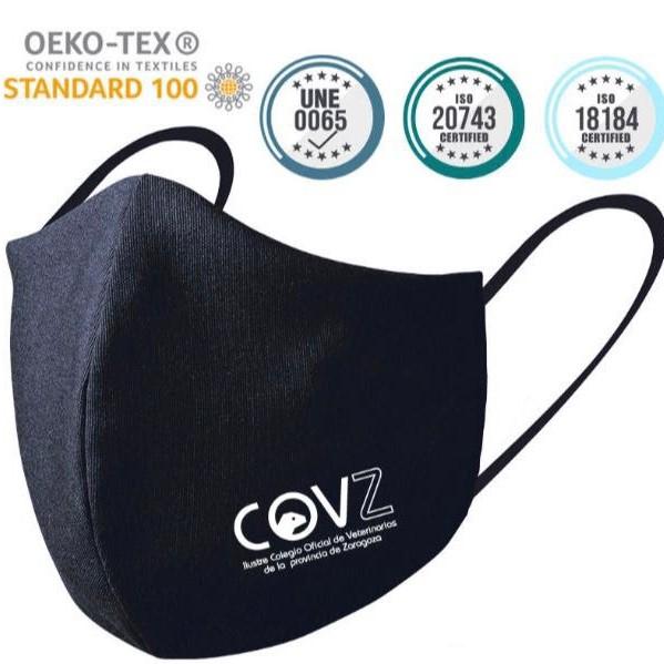 El Colegio de Veterinarios de la Provincia de Zaragoza distribuye mascarillas entre sus colegiados ante la COVID-19