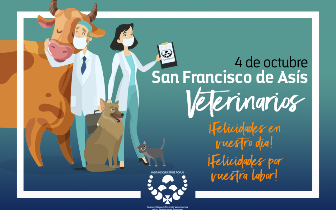 San Francisco de Asís. Patrón de la profesión veterinaria