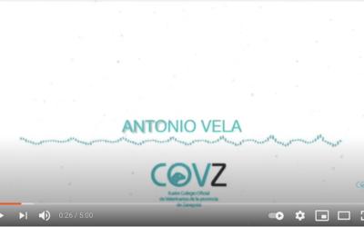 Antonio Vela, vocal del ICOVZ, en el programa «De puertas al campo» de Aragón Radio